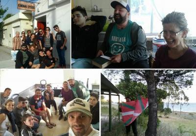 Patagoniarantz programaren baitan egindako barnetegiaren irudiak