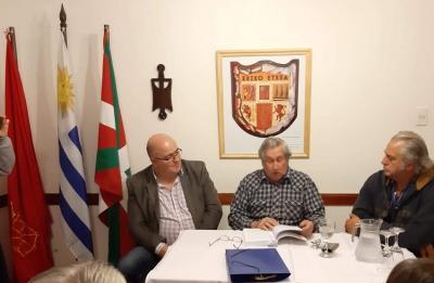 """Book presentation of """"The Basque Contribution"""" at the Euskaro Basque Club"""