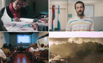 Euskal Jatorri Euskal Etxea protagonista duen bideoaren irudi batzuk