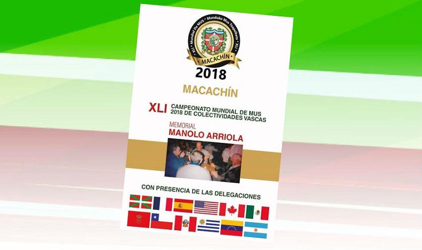 Macachingo Munduko Mus Txapelketaren 41. edizioa