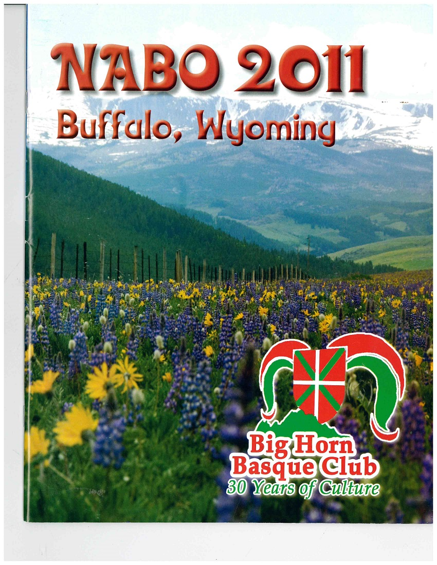 Cover of the booklet created for the 2011 NABO Convention in Buffalo