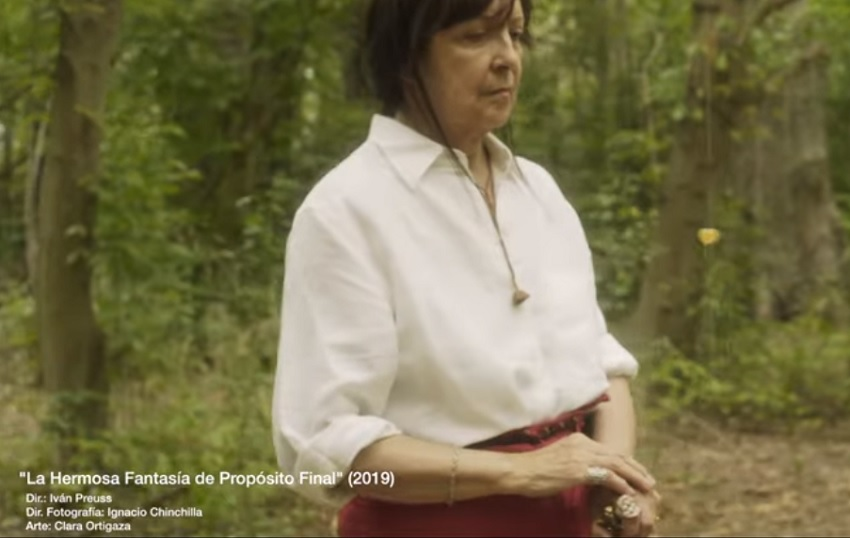 """""""La Hermosa Fantasía de Propósito Final"""" filma"""