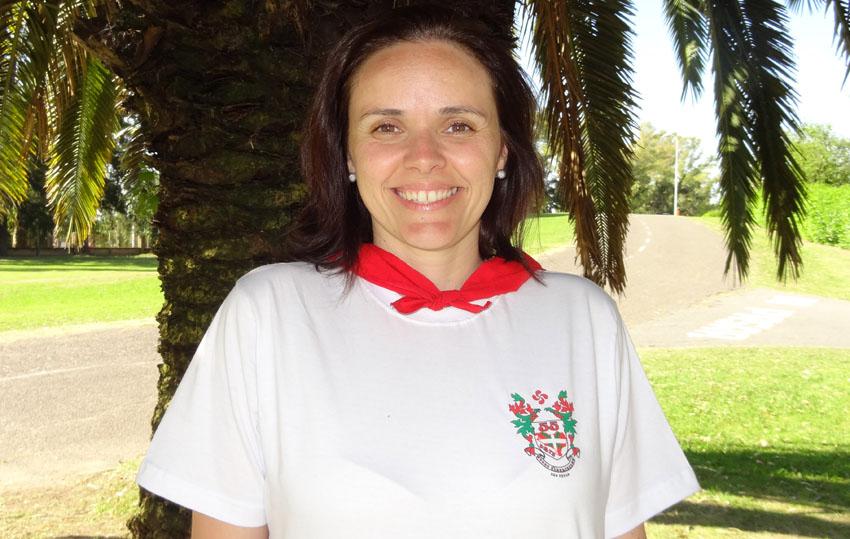 Pilar Alava, Sao Pauloko Eusko Alkartasuna euskal etxeko lehendakaria Brasilen (2014)