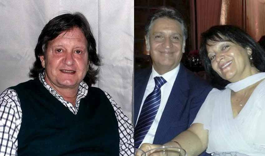 Jose Maria Narvarte Arregui; eta Luis Ignacio Bastarrica Molina, bere emazte Maria Angélica Carrasco Verarekin (arg. Berriketari-ren politesia)