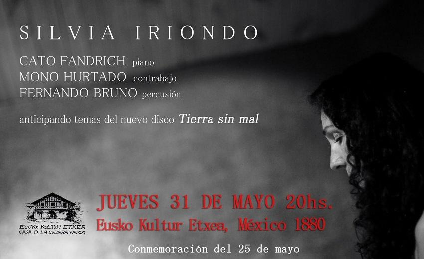 Concierto de Silvia Iriondo