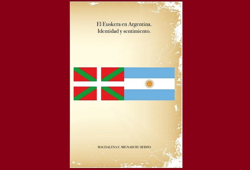 Tapa del libro 'El Euskera en Argentina. Identidad y sentimiento'
