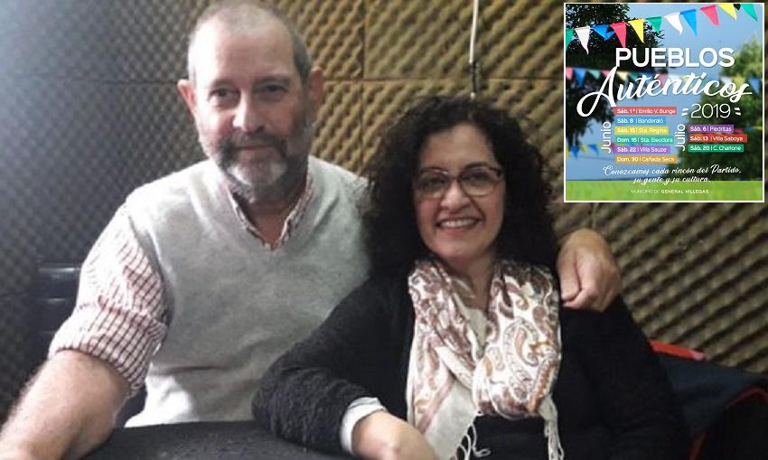 Diego Tellechea y María Zatón