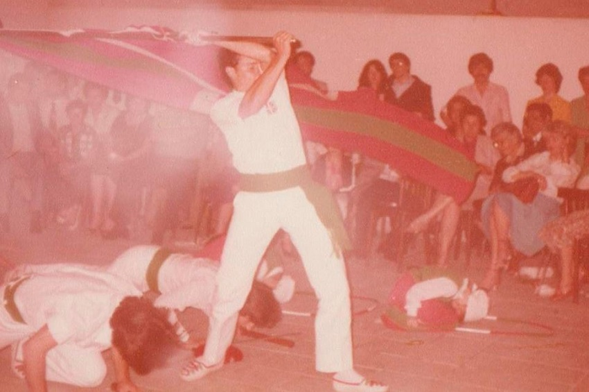 Carlos Miguelena, dantzari