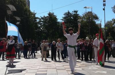 Aberri Eguna 2018 en el Centro Denak Bat de Mar del Plata que este año celebra su 75º aniversario