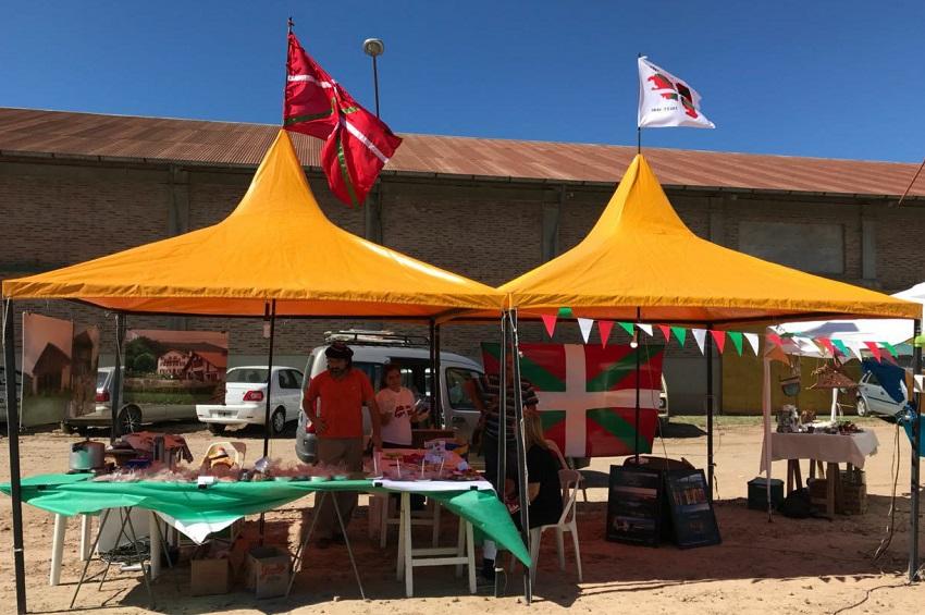 Asociación Vasca Ibai Txori de Concepción del Uruguay en la Expo Concepción 2018
