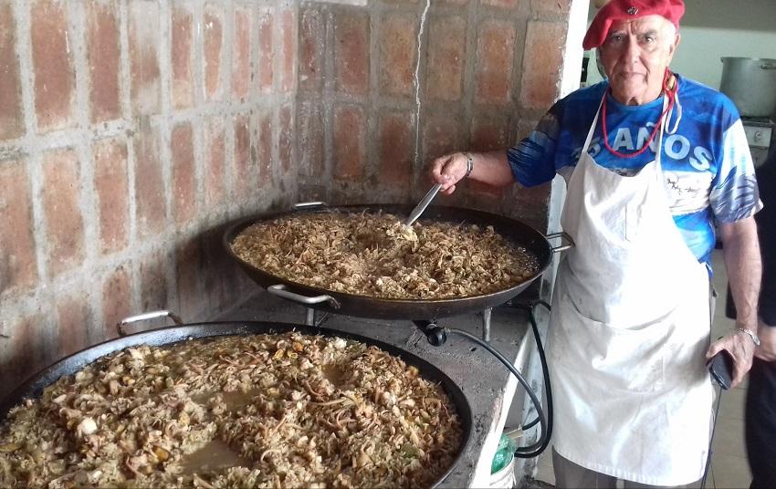There was also paella in Cordoba