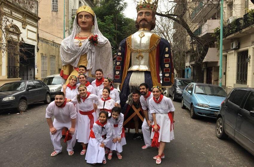 2018ko Sanferminak Buenos Aireseko Nafar Etxean