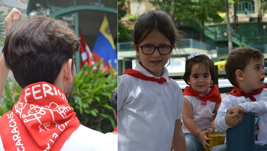 Neckerchieves and txikis in Caracas