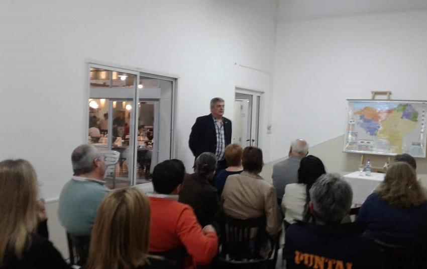 Euskal Herriari buruzko hitzaldia