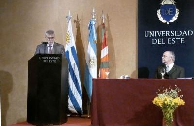 La Platako Universidad del Este-k Honoris Causa Doktore izendatuko du Alberto Irigoyen