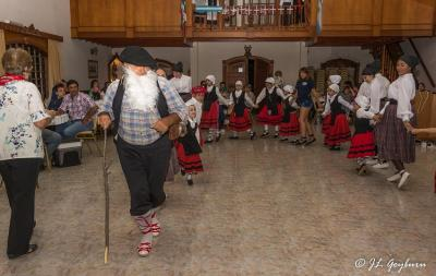 El Olentzero en el Beti Aurrera de Chivilcoy