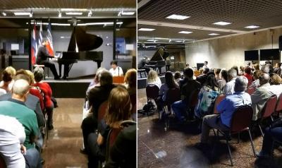 Concert by Josu Okiñena in Montevideo
