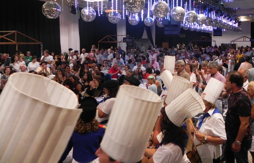 Necochea celebrated its traditional San Sebastian festivities during a week January 24-26 at its clubhouse