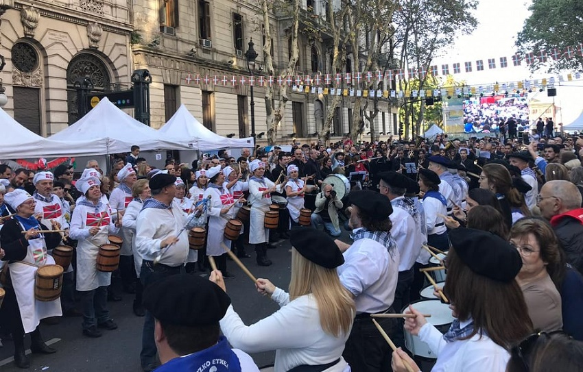 Buenos Aires Celebrates the Basque Country Festivities