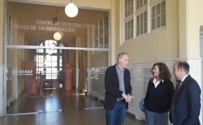Gorka Alvarez and Sara Pagola's tour of Basque clubs in the south of the Province of Buenos Aires