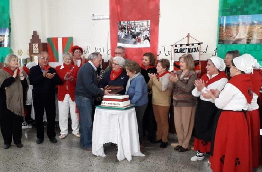 25º aniversario del Centro Vasco Gure Etxea de Azul