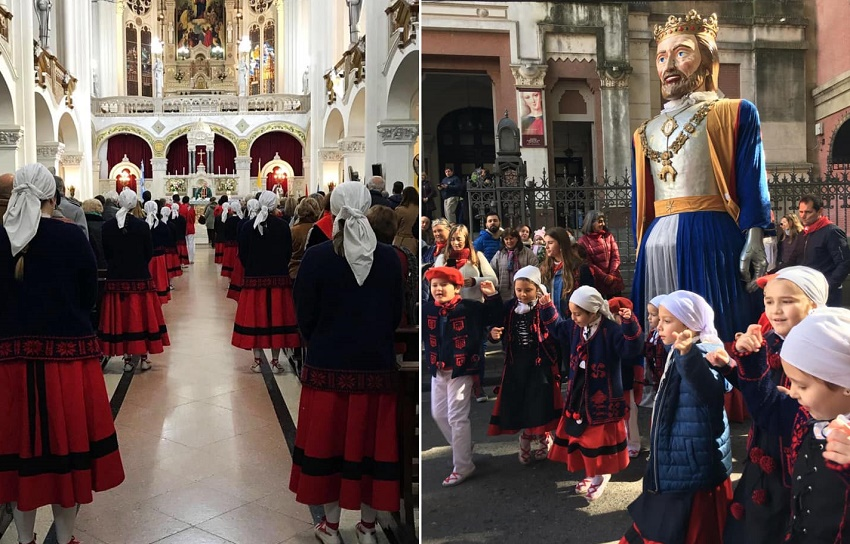 San Fermín 2019 en el Centro Navarro de Rosario