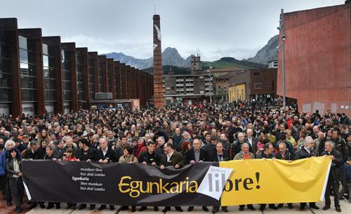 Free Egunkaria in Durangoko Azoka 2009