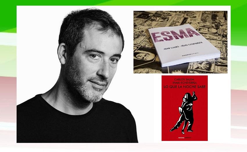 El argentino Iñaki Echeverria presentará 'ESMA' y 'Lo que la noche sabe' en Bilbo