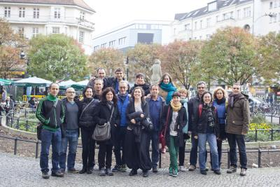 Participants at the Meeting of Basque Teachers in European Basque clubs in Berlin (photoHABE)