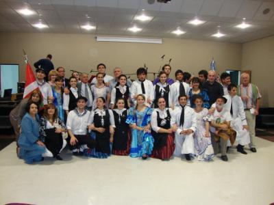 Presentación agrupación Gerora-Centenario de Idiazabal