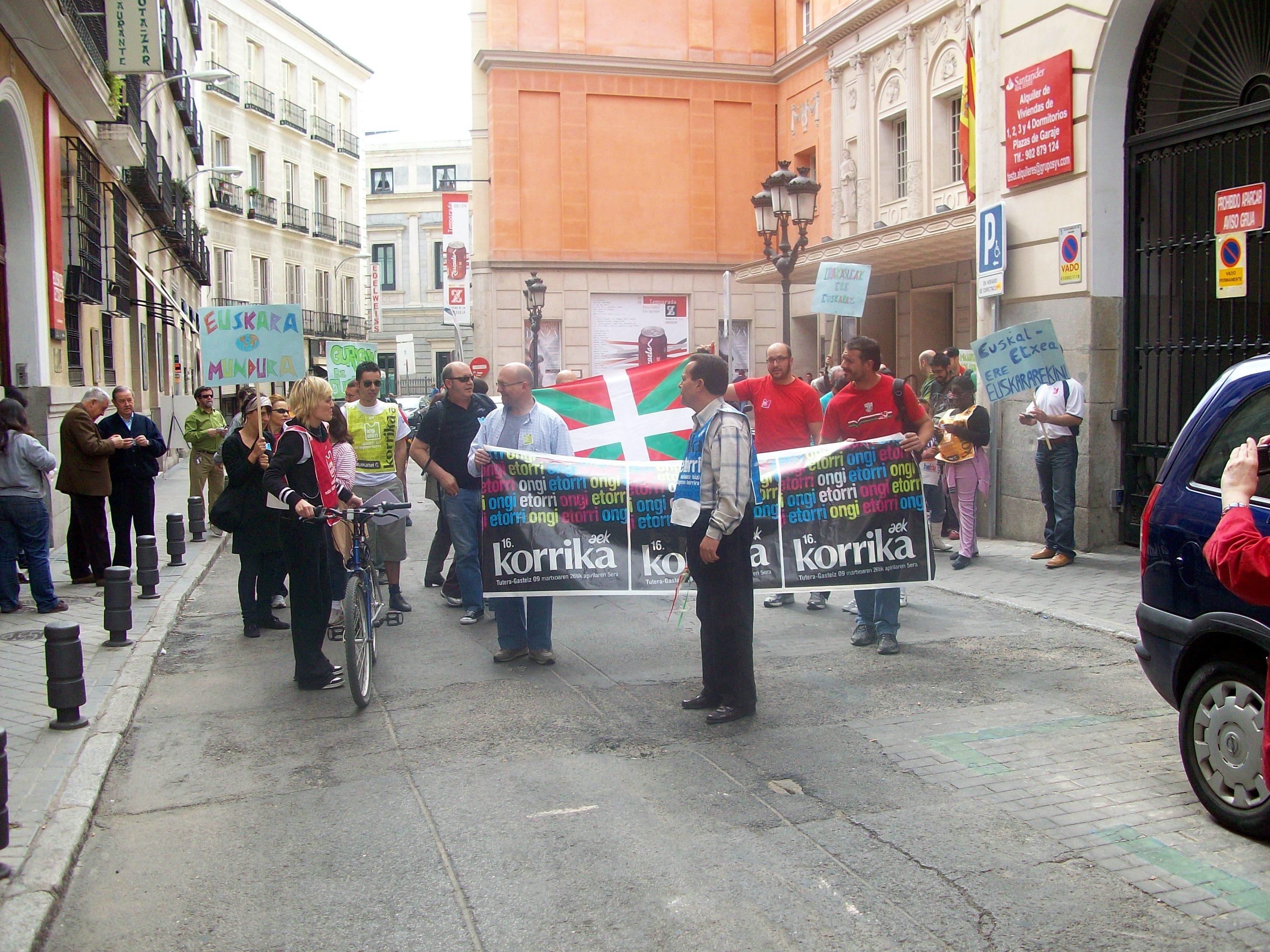 Korrika 16 in Madrid