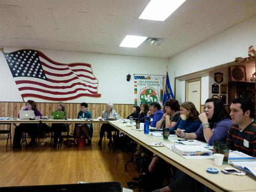 Reunión de Otoño 2012 de NABO en Mountain Home, Idaho