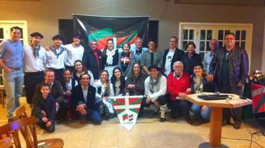Euskal topaketa Uruguaiana hirian 2014an