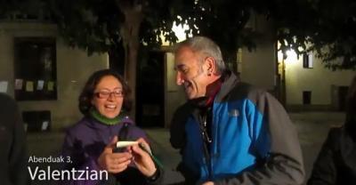 Valentziako Euskaltzaleok elkarteak euskaraz hizketan jarri zituen valentziarrak Euskararen Eguneko bideoan