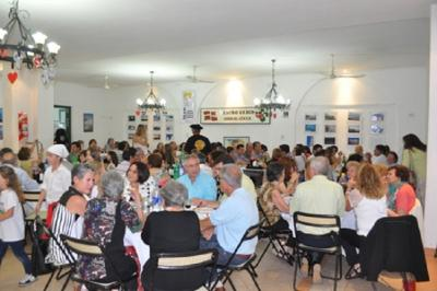 The Euskal Etxea in San Nicolas celebrating its 70th anniversary with dinner for 150 people (photo Diario El Norte)