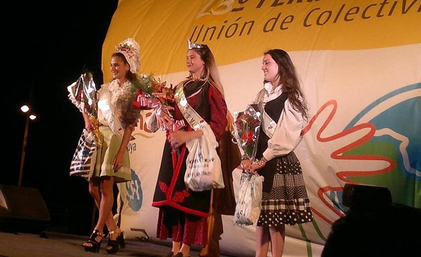 2014ko Azokako euskal Printzesa (argazkia Federación Colectividades de Paraná)