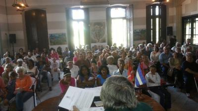 The Havana Basque club held its 2014 General Assemby with a full house (photo Havana EE)