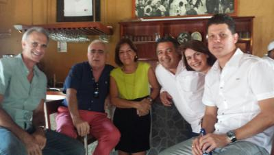 Carabobo estatuko lagun asko bildu ziren euskal etxearen urteurren festara (argazkia Carabobo EE)
