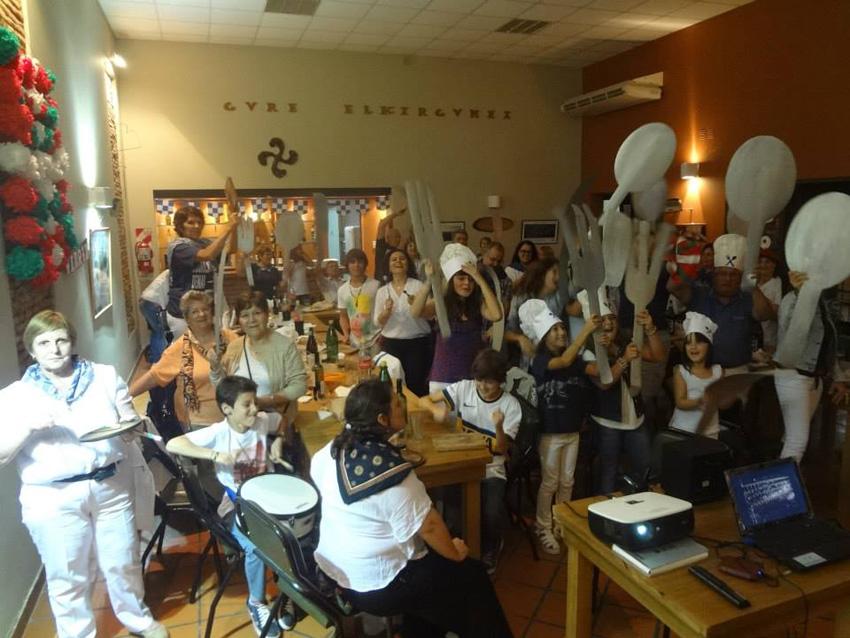 The children were also heard at the Tamborrada in Arrecifes