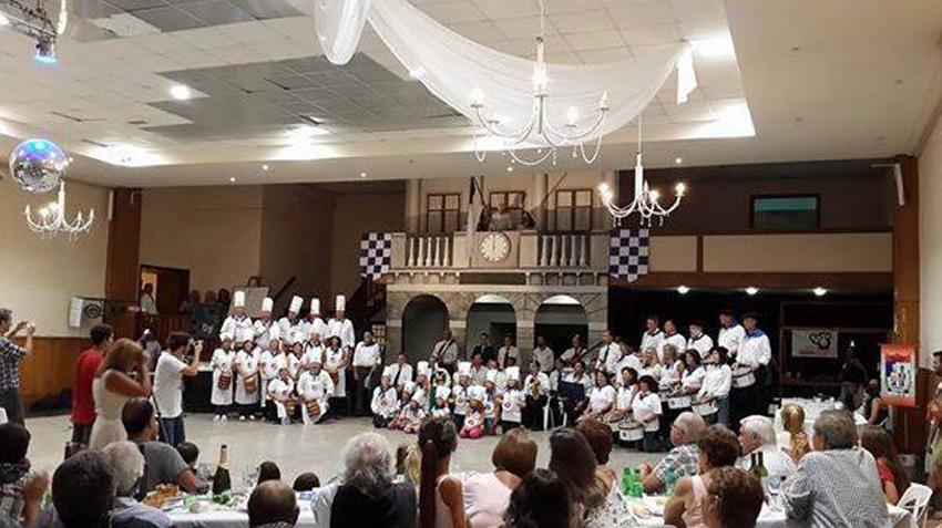 Basque club full to the brim