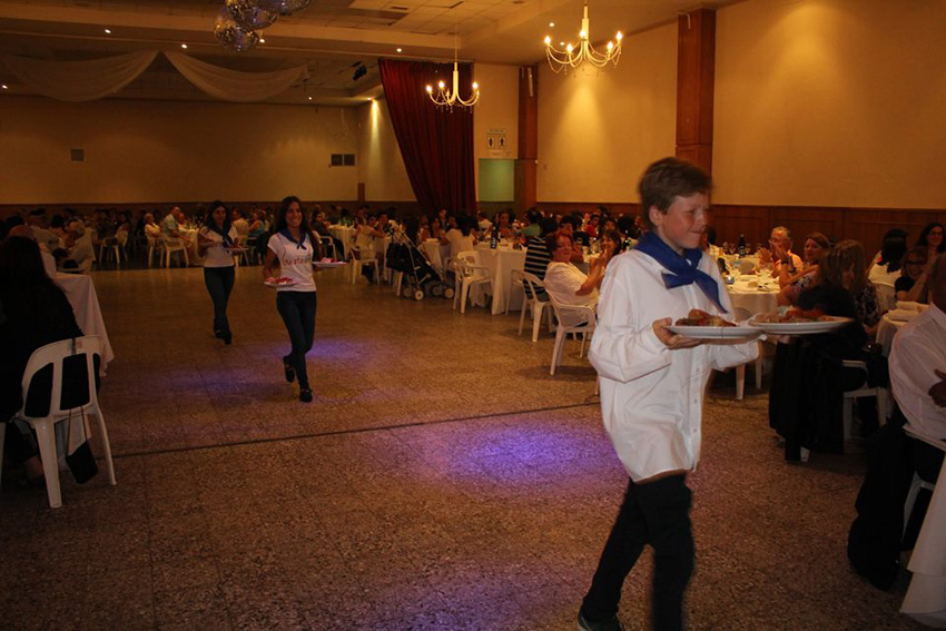 Youth serving tables