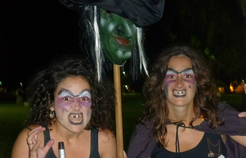 The full moon brought out the witches