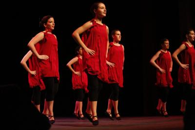 """The Basque dance group Gazteria was one of the supporters of """"Makila"""" (photoParisEE)"""