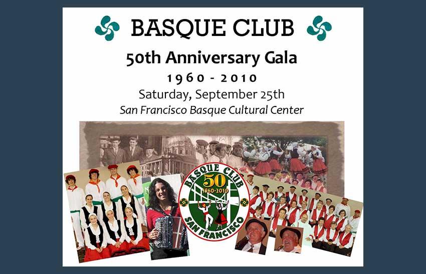 50 aniversario del SFO Basque Club