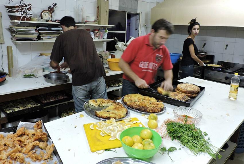 La cocina del Gure Ametza