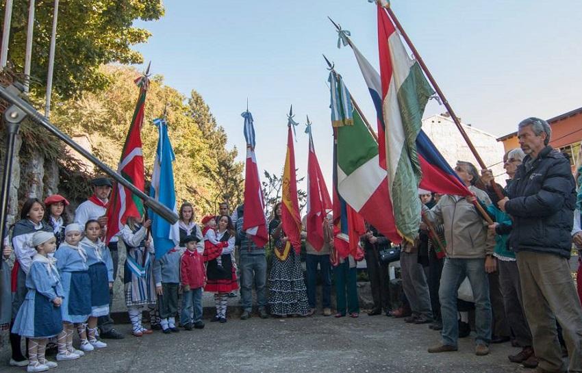 En Bariloche, en el Paseo de Colectividades