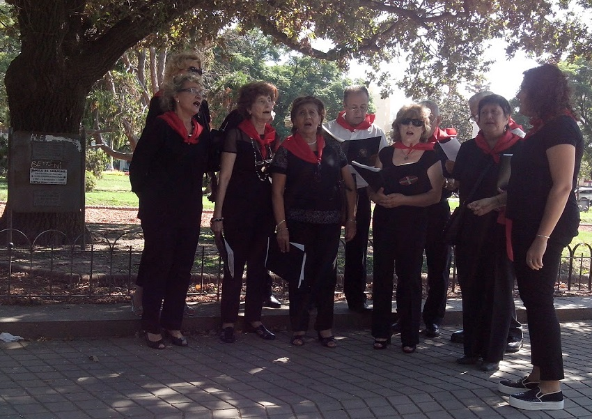 El coro de Villa María
