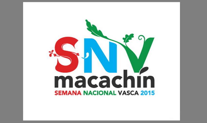 Logo de la Semana Nacional Vasca 2015