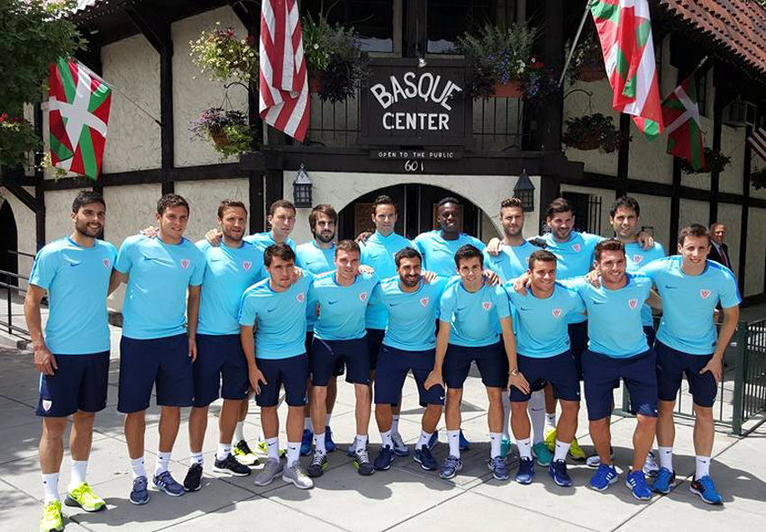 El Athletic en el Basque Center