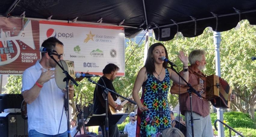 Euskal musika Basque Block-en